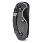 EDCGEAR Carbon Fiber Key Holder Case w/ Clip