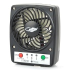 GT825B Portable 5V 1A USB 2.0 Powered 7-Blade 3-Mode Mini Fan - Black (1 x 18650) - USB Fans Consumer Electronics