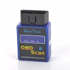 ELM327- B OBDII Bluetooth Auto Car Diagnostic Scan Tool / Interface - Blue + Black (DC 12V)