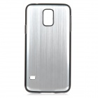 High Quality Protective Aluminum Alloy Back Case for Samsung Galaxy S5 - Silver