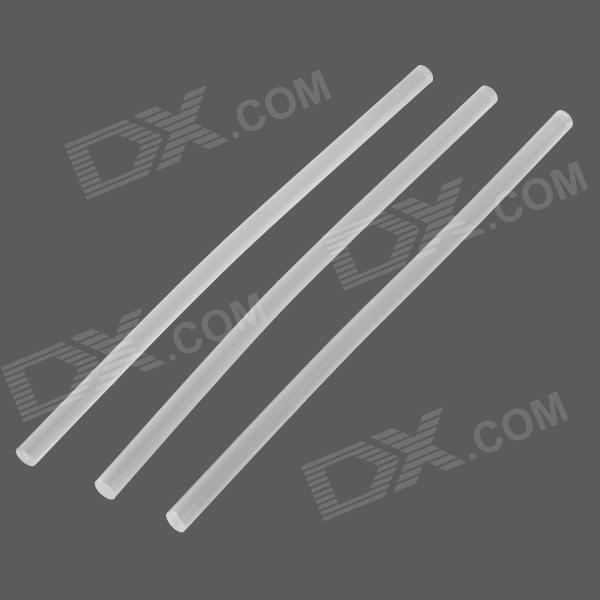 DIY Hot Melt Adhesive Glue for Motorcycle - Transparent  White (3 PCS)