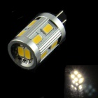 HZLED G4 1,8 W 110lm, 3000K, 12 x 5630 SMD LED Warm White Light Bulb Lampe - Weiß + Silber (AC / DC 12V)
