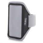 YI-YI Sports Gym PVC + Nylon Armband Case for Samsung Galaxy S5 - Grey