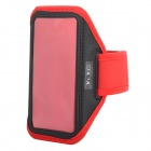 YI-YI Sports Gym PVC + Nylon Armband Case for Samsung Galaxy S5 - Red