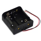 Jtron 1.5V 2 x # 1 Batteries Holder Case Box - Black