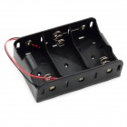 Jtron 1.5V 3 x D Type Battery Case - Black
