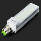 LetterFire E27 9W 650LM 3000K Warm White 44-2835 SMD LED Lamp - Silver (AC 85~265V)