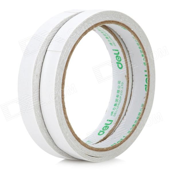 Double Sided Adhesive Tape - White (2 PCS) 1pc durable double sided tape adhesive high strength double faced tape foam attachment tape two sided adhesive 10mx20mm
