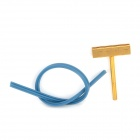 LCD Monitor Repair Tool Type-T Tip + 24cm Hot Pressure Cable Kit - Blue + Golden