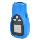 "DT8350 1.5"" Screen Dual Laser Infrared Thermometer - Black + Blue (2 x AAA)"