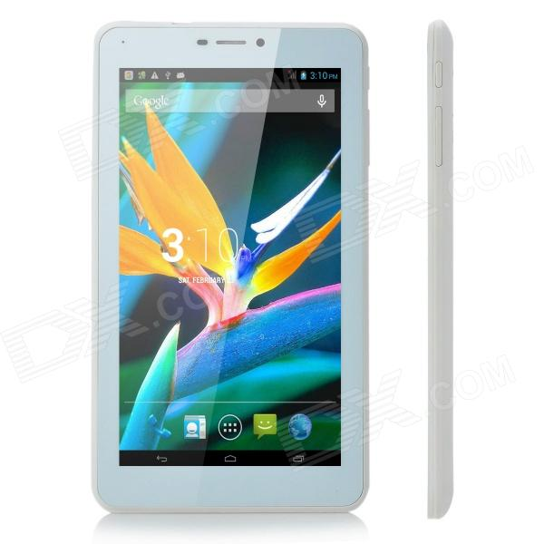 "N967 7"" IPS Dual-core Android 4.2 3G Phone Tablet PC w/ Dual-SIM / Wi-Fi / GPS - White"
