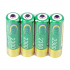 BTY Rechargeable 1.2V 2200mAh AA Ni-MH Batteries - (4 PCS)