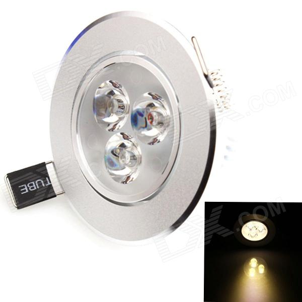 HESION HS02003C 3W 270lm 3200K 3-LED Warm White Ceiling Light / Spotlight - (85~265V)