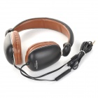 Conleen CT-689 3.5mm Wired Headband Earphone w/ Microphone for Mobile Phone / Laptop (125cm)