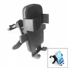360 Degree Rotation Car Air Conditioning Vent Holder Bracket for Phone / GPS Navigation - Black