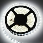 144W 5800lm 600-SMD 5050 LED Kald Hvit Lys Strip-(12V / 5m)