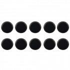 Jtron Tact Switch Round Cap - Black (10 PCS / 12 x 12mm)