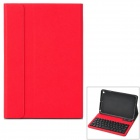 Stilvolle Abnehmbare 61-Tasten Bluetooth V3.0 Keyboard Case für iPad Mini / Retina-iPad Mini - Deep Pink