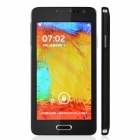"Mini N900 Capacitive Touch Screen Android 4.3 WCDMA Bar Phone w/ 4.7"" / Bluetooth / GPS - Black"
