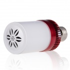 BB Speaker 2-in-1 Stylish Bluetooth V4.0 Music Lamp Speaker - White + Red
