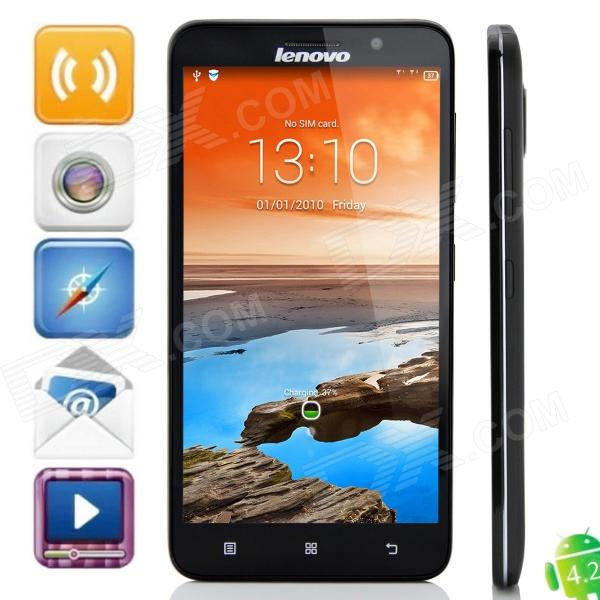 Lenovo A850+ MTK6592 Octa-Core Android 4.2.2 WCDMA Bar Phone w/ 5.5 QHD, Multi language, FM, GPS m pai 809t mtk6582 quad core android 4 3 wcdma bar phone w 5 0 hd 4gb rom gps black