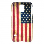 US National Flag Pattern Protective PC Case for Samsung Galaxy S5