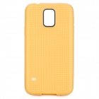 Protective TPU Case for Samsung Galaxy S5 - Yellowish Brown