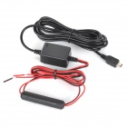 12V-24V Input / 5V 1.5A Mini USB Output Step-down Wire with Protector for Car GPS / Camcorder - Car GPS Car Accessories