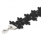 Woman's Stylish Lace Anklet - Black