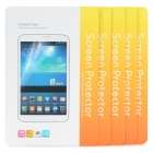 PET Matte Screen Protector Film Guard for Samsung Galaxy Tab Pro 8.4 T320 - Transparent (5 PCS)