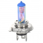 H4 55W 8000K 100lm Quartz Blue + White Light Halogen Lamps - Blue + Silver (2 PCS / 12V)