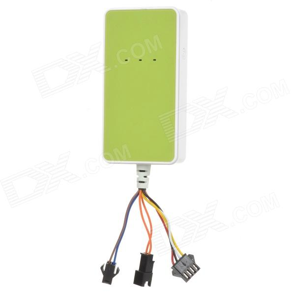 A18 Multifunctional GPS / GSM / GPRS Tracker for Cars + More - Green gps gsm gprs tracker for personal remote positioning