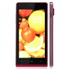 "K3 Capacitive Touch Screen Android 4.2 Bar Phone w/ 4.7"" / Dual Camera / GPS - Deep Pink + Black"