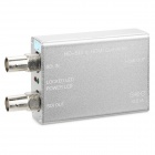 HD-SDI to SDI Converter Adapter & Repeater - Silver Grey (DC 12V / 1A)