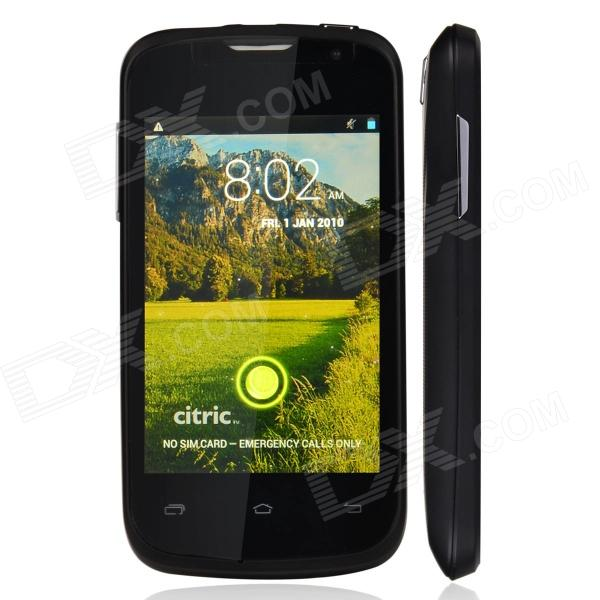 Citric C5 Capacitive Touch Screen Android 4.2 Bar Phone w/ 3.5