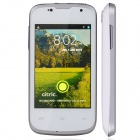 "Citric C5 Capacitive Touch Screen Android 4.2 Bar Phone w/ 3.5"" IPS / Bluetooth / Wi-Fi - White"