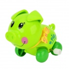 Pig Style Clockwork Toy - Green