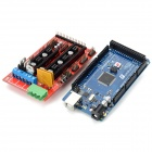Funduino 3D 2560 R3 Main Control Panel + 3D1.4 Control Board + 4988 Driver Module Set - Multicolored