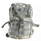 Canvas Tactical Shoulder Bag - Camouflage