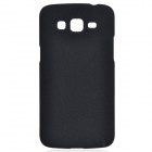 TEMEI Quicksand Style Protective Plastic Back Case for Samsung Galaxy Grand 2 G7106 - Black