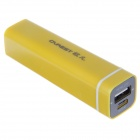 OVAEST BDW-101 3000mAh Mobile Power Source Bank for IPHONE + More - Yellow