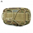 Maxgear 0327 Nylon Tactical Pockets Multifunctional Storage Bag - Camouflage