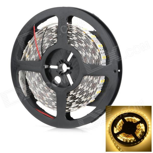 Dual Row 144W 5800lm 600-SMD 5050 Warm White Light Strip - (12V / 5m)