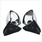 2905A Universal Car Rearview Mirror - Silver (2 PCS)