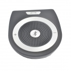 Cool pers T-001 Handsfree Bluetooth V3.0 Car Multimedia Speaker - Black + Grey
