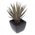 EZZE EZ-12-F Yucca Deodorizing & Refreshing Activated Charcoal Diffuser - Black + Purple