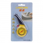Tire Pressure Gauge 75 PSI for Inflatable Car Vehicle - Yellow + Black