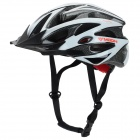 MOON MV29 Casual Outdoor Cycling Bike Helmet - Black + White (Size L)