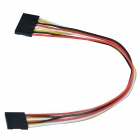 DuPont 8-Pin 2.54mm macho a macho Cable de extensión de cable para Arduino - multicolor (21.5cm)
