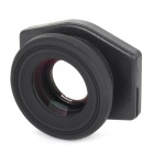 Plastic + Glass Zoom Viewfinder - Black